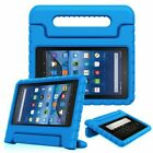 Amazon Fire HD 8 / Fire 7 2017 Shock Proof Stand Case Handle Kids Friendly Cover