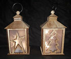 New FLAME FREE Candle holder Lantern Rustic Lantern Candle Vintage holder