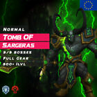 WoW Boost ✯ Normal Tomb Of Sargeras 9/9 Full Gear ✯All EU Alliance & Horde✯