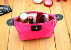Travel Zipper Waterproof Cosmetic Bag Makeup Pouch Toiletry Organizer Case Gift