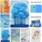 Cute Pattern Magnetic Smart Leather Wallet Case Cover For Ipad 9.7 2017/mini/air
