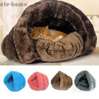 Dog Cat Pet Warm Sleeping House Bed Mat Cave Pad Puppy Igloo Nest Kennel Pad EH