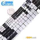 Black Magnetic Hematite Gemstone Cubic Beads For Jewelry Making Free Shipping GB