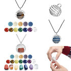 Spring Spiral Bead Cages Gemstone Pendants Necklace Jewelry DIY Making Findings
