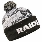 Forever Collectibles NFL Adult's Oakland Raiders Light Up Printed Beanie $19.99 USD on eBay