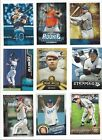 2015 TOPPS INSERTS - SERIES 1,2 & UPDATE - ALL LISTED - WHO DO YOU NEED!!!
