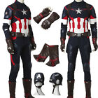 captain america the avengers suit - Hot the Avengers Age of Ultron Captain America Cosplay Costume Steve Rogers Suit