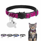 Bling Sequins Cat Collars Breakaway Safety Cat Collar with B