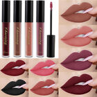 Women 12 Colors Sexy Long Lasting Waterproof Ultra Matte Liquid Lipstick Rouge