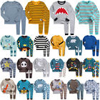 "Vaenait Baby Top+Trousers Toddler Boys Clothes Sleepwear Set 12M-7T ""50Style"""