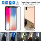 For iPhone X 10 [Mirror Front and Back] Tempered Glass Screen Protector US SHIP