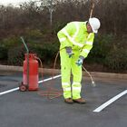 ROAD LINE MARKING TORCH-ON PARKING YELLOW THERMOPLASTIC 50mm 75mm 100 mm