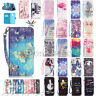 Fashion Magentic Leather Card Wallet Stand Case Cover For Samsung Galaxy Phone