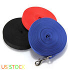 Dog Training Lead 30 50 ft Long Leash Obedience Cotton Nylon Webbing  Foot Feet