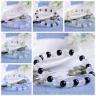 Fashion Rhinestone Crystal Beaded Bracelet Bangle Jewelry Gift for Women Girls