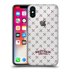 OFFICIAL WEST HAM UNITED FC 2016/17 HAMMER MARQUE CASE FOR APPLE iPHONE PHONES