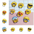 New Emoji Emoticon Round 360° Ring Stand Finger Bracket Holder for Mobile Phone