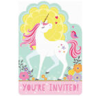 Magical Unicorn Fairytale Birthday Party Tableware Decorations Supplies