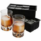 8-Big Cube  Jumbo Large Silicone Ice Cube Square Tray Mold Mould