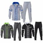 Mens fleece tracksuits and hoodies/NS fleece NEW YORK GREY FULL ZIP WITH BUTTONS