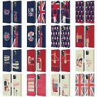 HEAD CASE DESIGNS LONDON BEST LEATHER BOOK WALLET CASE FOR APPLE iPHONE PHONES