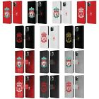 LIVERPOOL FC LFC CREST 1 PU LEATHER BOOK WALLET CASE FOR APPLE iPHONE PHONES