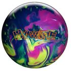 NEW Roto Grip Hy-Wire Hybrid Reactive Bowling Ball, Blue/Yellow/Violet, 16 LB