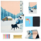 For Amazon Kindle Paperwhite 1/2/3 Slim PU Leather Stand Card Pattern Case Cover