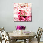 Rose Perfume Stretched Canvas Prints Framed Kids Wall Art Home Office Decor Gift
