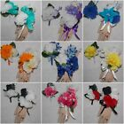2PCS Wrist Corsage & Boutonniere Set with Carnations Many Colors to pick from