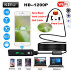 WiFi 1200P HD Waterproof For iPhone Android Endoscope Inspection Video Camera 5M