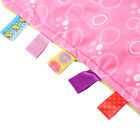 Baby Soft Bundle Plush Security Comfortable Taggy colourful Blanket girl gifts <br/> Great Price☆Color label☆Nice Blanket☆Fast&amp;Free Delivery