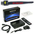 V9S PRO DVB-S/S2 FTA Satellite TV Receiver Decoder 1080P support Powervu BissKey