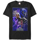 Marvel Black Panther 2018 Character Collage Mens Graphic T Shirt