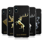 OFFICIAL HBO GAME OF THRONES SIGILS SOFT GEL CASE FOR APPLE iPHONE PHONES