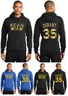 New Kevin Durant Hoodie Hooded Sweatshirt KD 35 Jersey Golden State Warriors