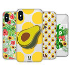 HEAD CASE DESIGNS AVOCADO PRINTS SOFT GEL CASE FOR APPLE iPHONE PHONES