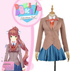 Literature Club Sayori Yuri Natsuki Monika Cosplay Costume Custom Made