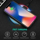 Fast Charging Qi Wireless Charger Pad for Samsung S7 S8 Note 5 8 iPhone X 8 Plus