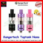 2017 New 100% Kanger Toptank Nano Sub Ohm 3.2 ML Top Fill Tank with coil #B-KTT