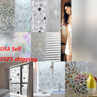 High Quality Waterproof Frosted Privacy Window Glass Cover Film Home Sticker USA