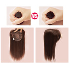 USWC Cover Gray Hair Hairpiece Topper Replacement Women Synthetic Hair With Bang