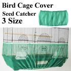 S-L White Seed Catcher Guard Mesh Bird Cage Case Cover Skirt Traps Clean Cage