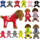 Kyпить Cute Medium M Red Adidog Jumpsuit Girl Dog Dress Clothes Accessories Cheap на еВаy.соm