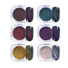 1pcs/12pcs Nice Cat Eye Nail Powder Decoration For Home Cell Phone Case Glasses