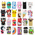 3D Cartoon Disney Silicone Rubber Soft Cute Case Cover for iPhone 5/6G/S 7G Plus