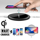 Fast Qi Wireless Charger Slim Pad for iPhone X/8/8 Plus Galaxy Note 8/S8/S8+