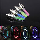 2 LED Light Lamp Cycling Bike Motorcyce Car Wheel Tire Valve Cap Spoke