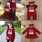 Matching Clothes Little Brother Romper Big Sister Dress+Headband 2Pcs Outfits US