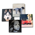 Printed Personalised Photo Glass Coaster, Printed with your Own Picture